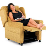 How do riser recliner chairs work? Feet up
