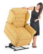 How do riser recliner chairs work? Rising