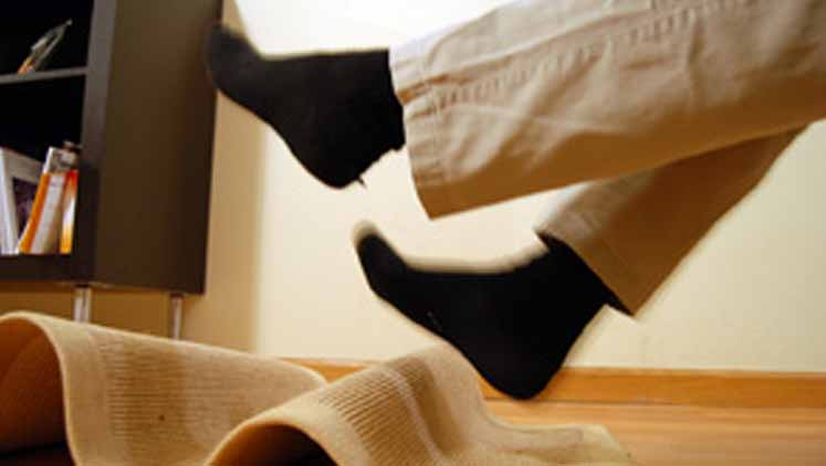 Avoid falling at home with these tips
