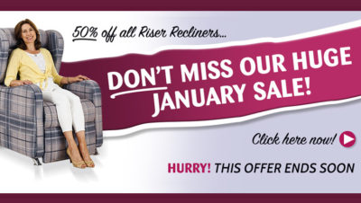 January Sale Now On- Fantastic New Years Savings!
