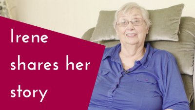 Irene's story: How a riser recliner helps my joint pain