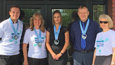 Huge Congratulations to our Worcester Half Marathon Team!