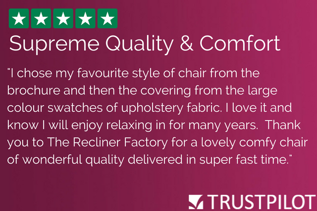"""Recliner Factory Review 2: """"Supreme Quality & Comfort"""""""