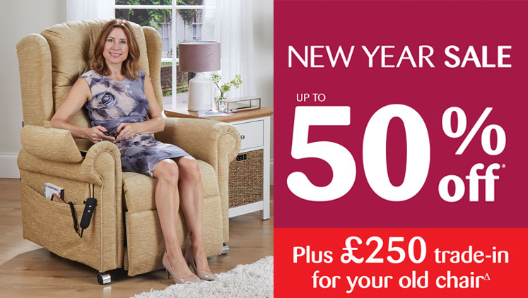 Don't Miss Our Fantastic New Year Riser Recliner Sale!