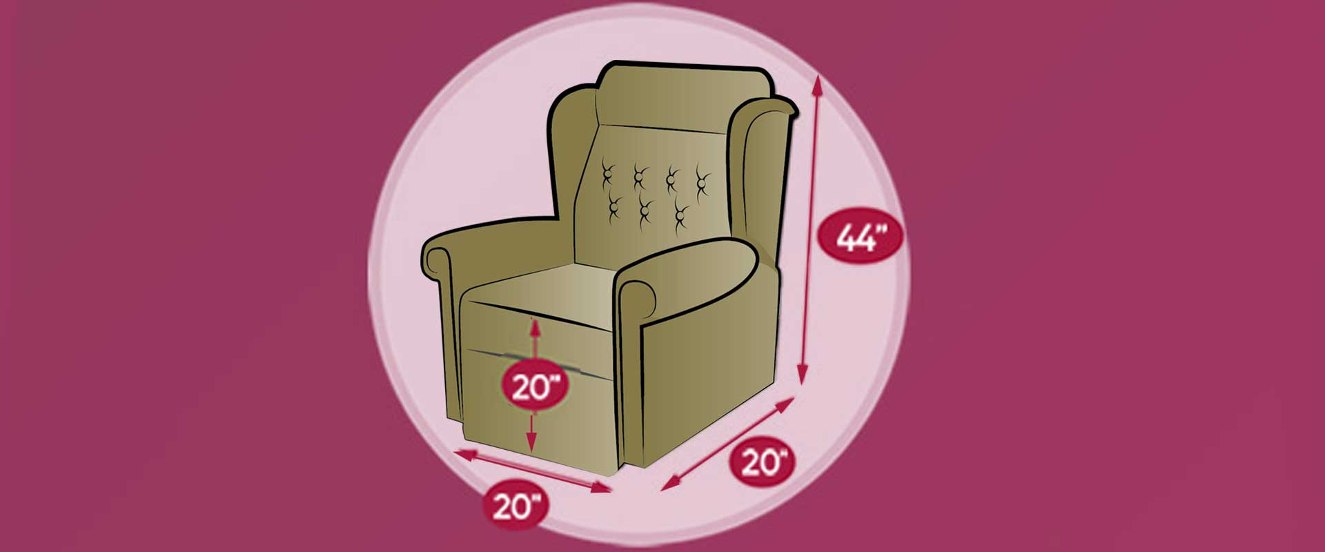 Orthopedic chair sizing