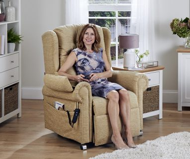 The Malvern Plus Riser Recliner Chair