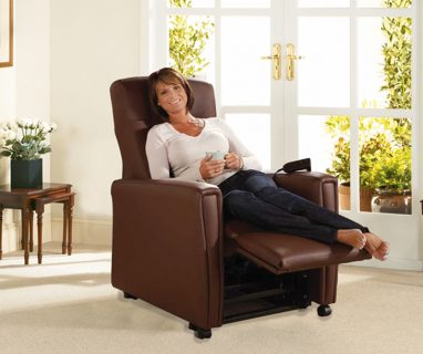 The Milan Leather Riser Recliner