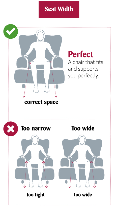 Get the perfect size chair