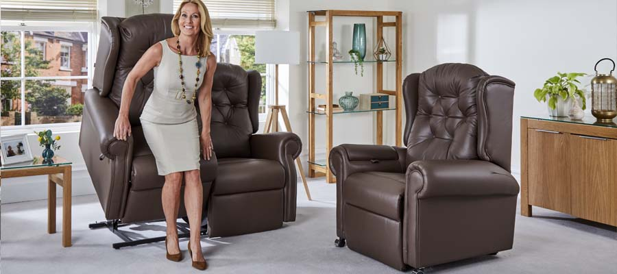 A recliner sofa lifts you to your feet with ease